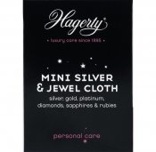 Hagerty Mini Silver & Jewel cloth